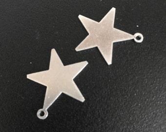Star shaped pendant blanks