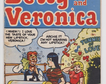 Comic: Archie's Girls - Betty and Veronica - Tunnel of Love