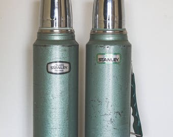 Vintage Thermos Set, Camping Gift Ideas, Outdoors Gift, Camping Accessories,  Camping Thermos