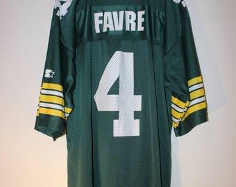 Brett Favre Green Bay Packers Starter Jersey