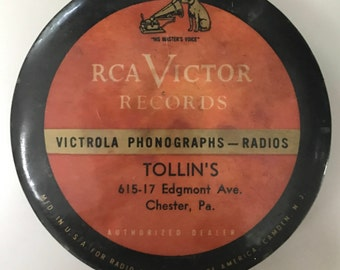 Vintage RCA Victor Records Cleaning Brush