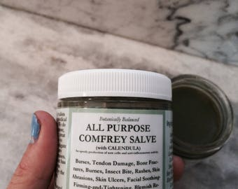 All Purpose Comfrey Salve 4oz.