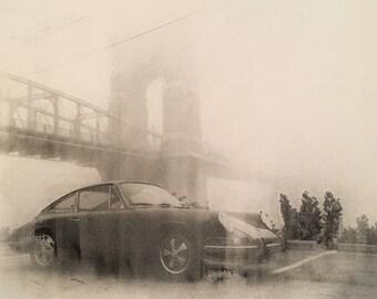 Porsche 911 Foggy Day