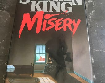 "First Edition: Stephen King ""Misery"" *mint*"