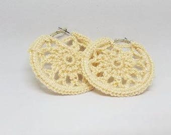 Boho Style Hoop Earrings