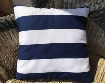Handmade Nautical Throw Pillow