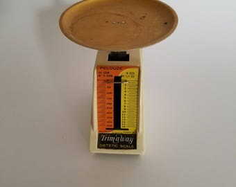Vintage Trim -Away Food Scale