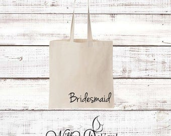 Personalized Bridemaid Tote