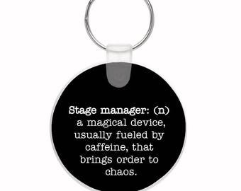 Stage Manager Definition Key Ring