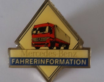 Pin Mercedes -Benz Fahrerinformation - Driverinformation