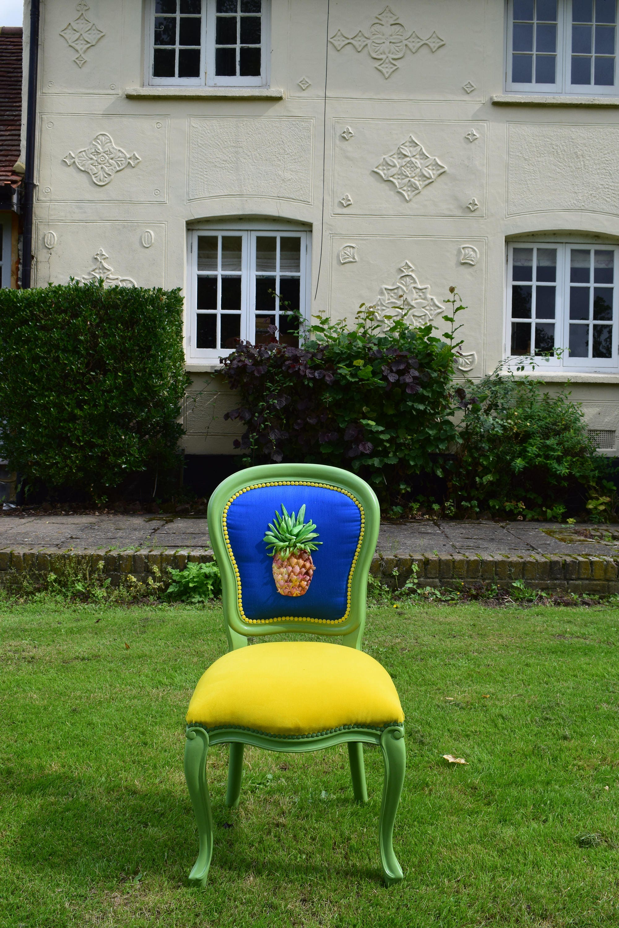 Statement chair Pineapple chairQuirky chairUnusual