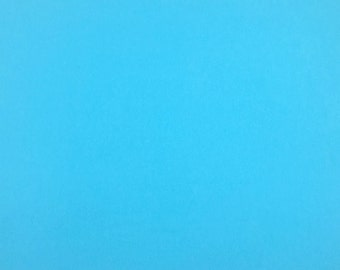 Baby Blue Solid Flannel Fabric, Fabric by the Yard, Quilting Fabric, Apparel Fabric, Solid Flannel