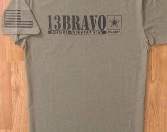 Army - Field Artillery - Artillery - Mens Army Shirt - Womens Army Shirt - National Guard - Army Veteran - Army Wife - US Army - 13 Bravo