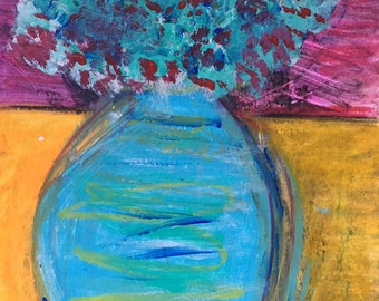 Vase Original Painting