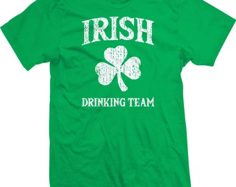 Irish Drinking Team St Patricks Day Tee Shirt