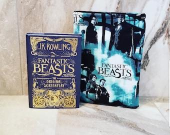 Fantastic Beasts book sleeve