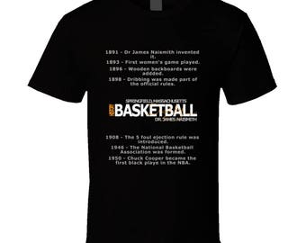 Basketball History T-shirt