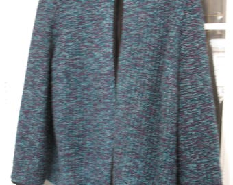 Dress Barn Light Jacket Blues......Lovely-100% Poly Size 22-24