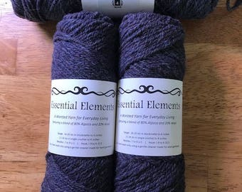 Essential Elements 3 ply Worsted - Slate
