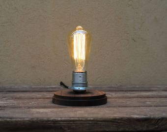 Classic Vintage Style Edison Bulb Table Lamp | Desk Lamp | Bedroom Lamp |  Bedside Lamp