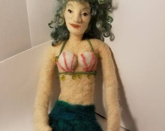 Needle-felted Mermaid