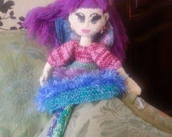 Wooden Fairy - Handmade Decore Doll