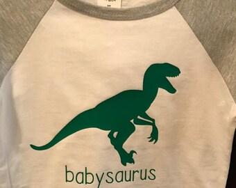 Dinosaur Babysaurus Tee