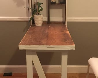 fold down table rustic and authentic by dockery