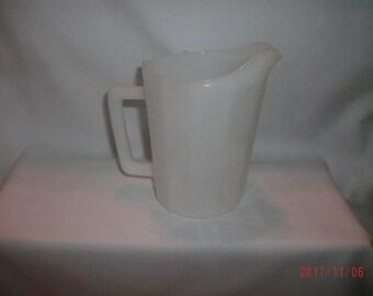 Small Milk Glass Pitcher