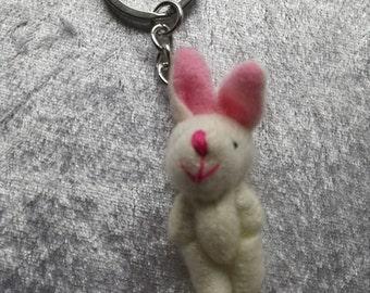 Teddy rabbit charm