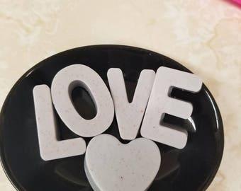 Love Soap w/ Heart