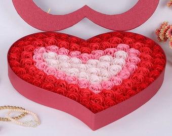 Heart shaped gift | Etsy