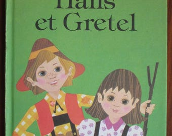 Vintage Children's Ladybird Book in French - Hans et Gretel