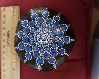 Mandala, Meditation stone