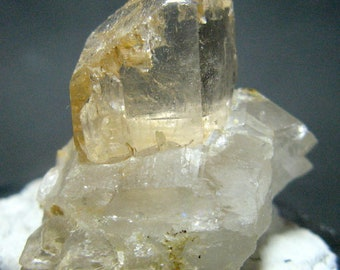 22 Grams Beautiful Top Class Topaz Bunch on Quartz Combine Specimen From Skardu Pakistan