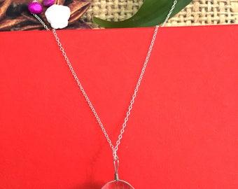 Dandelion Resin Necklace REC_N07, Resin Necklace , Dandelion Jewelry, Dandelion necklace