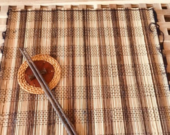 Placemat and chopstick set