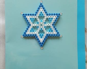Snowflake Star Card
