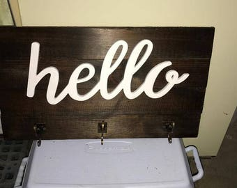 Hello Sign with Hooks