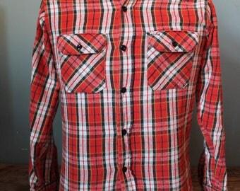 Vintage 60's DEE CEE Flannel Size Medium