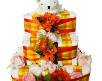 Southern Bell Girl Diaper Cake