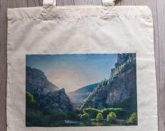 """Reusable Library Bag with """"Light of Life"""""""