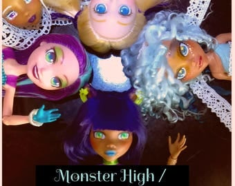 Monster High / Ever After High Repaint Commissions