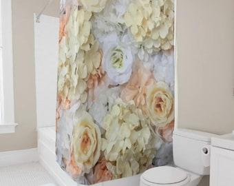Lovely Floral Shower Curtain