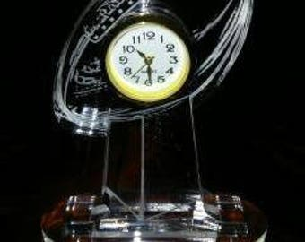 Football Mini Trophy Clock