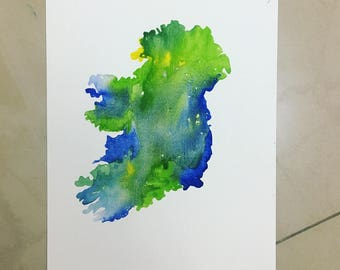 Eire Watercolour Paintings