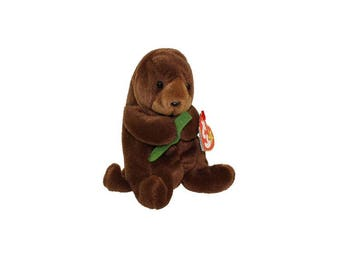 Ty Beanie Babies Seaweed the Otter 1995