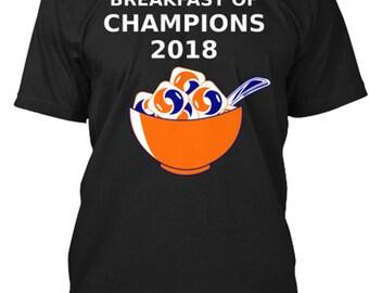 Breakfast of Champions funny tide pod challenge meme black t-shirt