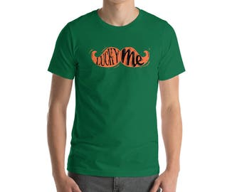 Lucky me. st Patrick's Day Unisex T-shirt. Happy st. Patrick's day. Short-Sleeve Unisex T-Shirt