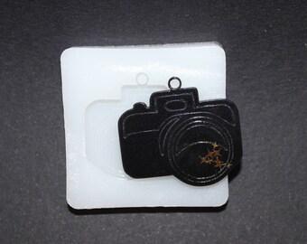 Flexible Silicone Mold Camera Pendant